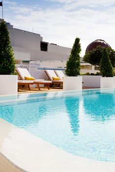 Art Deco style meets French Moroccan chic at the sexy rooftop pool. Dream South Beach (Miami Beach, Florida) - Jetsetter