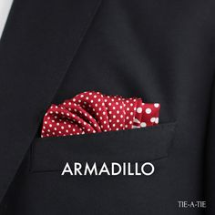 Armadillo Pocket Square Fold how to How To Fold Hankerchief, Pocket Handkerchief, Pocket Square Styles, Men's Pocket Squares, Pocket Square Folds, Armadillo, Business Casual Men, Sports Jacket, Cool Suits