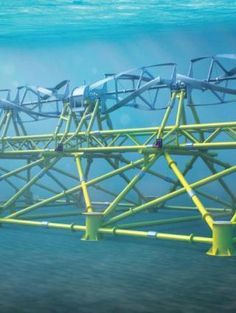 ORPC TidGen Power System Nick Kaloterakis The TidGen Power System takes advantage of one of nature's most consistent energy sources: the tide. It sits on the floor of a bay or deep river, where water rotates foils that drive a permanent magnet generator, sending roughly 150 kilowatts of electricity to shore. The first TidGen unit, installed off the coast of Maine last year