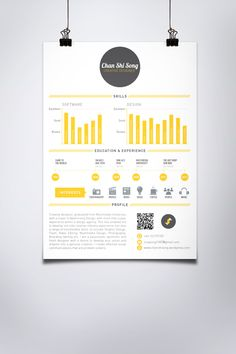 Self Promotion by Chan Shi Song, via Behance