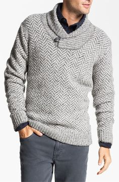 Fiesole Shawl Collar Wool Blend Sweater available at #Nordstrom