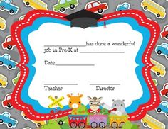 This is a set of thirteen preschool and Pre-K graduation certificates that have editable information using power point. It also includes some certificates with teacher signature spots only. Free Printable Certificate Templates, Graduation Certificate Template, Pre K Graduation, Preschool Graduation, Preschool Certificates, Free Preschool, Preschool Ideas, Award Template, Teacher Resources