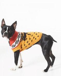 Dog jumper patterns free