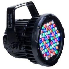 Elation ELAR 180 PAR RGBWA  - 240W, 60 x 3W RGBAW IP67 HIGH POWER LED PAR