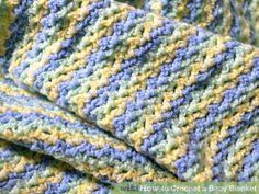 6 Ways to Crochet a Baby Blanket - wikiHow