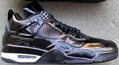 Jordan 4 Retro 11Lab4 Black White