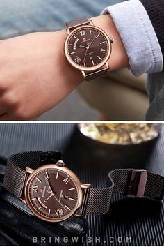 The Teveno stainless steel mesh watch is powered by a reliable quartz movement for guaranteed precision. This stylish timepiece is sure to complete any man's collection. Trendy Watches, Latest Watches, Watches Online, Watches For Men, Best Affordable Watches, Discount Watches, Stainless Steel Mesh, Beautiful Watches, Michael Kors Watch