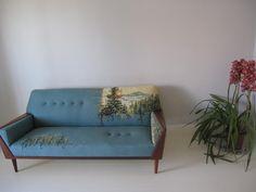 Cool Blue Sofa Skylarshomeandpatio