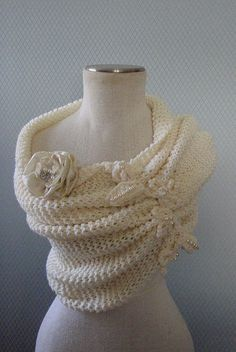 Shurg Bridal Bolero Bridesmaid Shawl Wrap Cape Wedding by denizy03