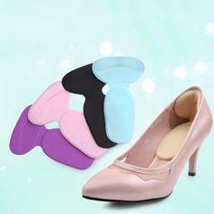 1 paire haute talon chaussures pad super doux semelles Confortable Gel de Silicone Talon Coussin Protecteur Pieds Soins 2015 Chaude