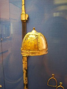Persian sword and helm (pre-islamic)