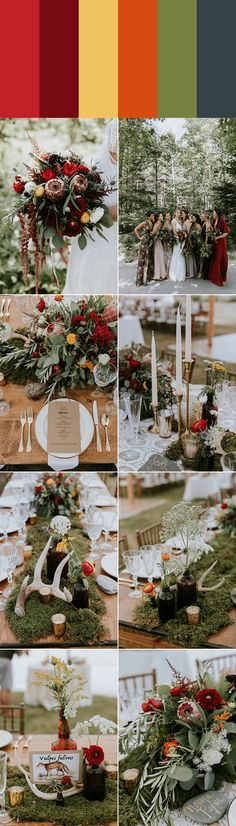 We are in love with this palette full of rich colors   Images by Emily Delamater Photography