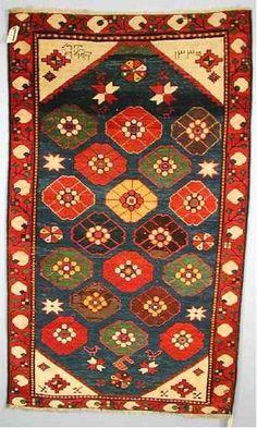Kazak Rugs: Kaimagly Lambalo Kazak Dated 1916