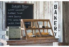 Vintage Bakery Display Cases