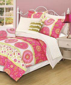 Another great find on #zulily! Jennifer Nine-Piece Comforter Set #zulilyfinds