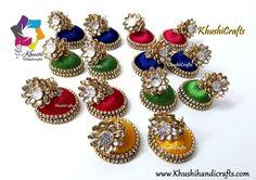 Silk thread earrings Silk Thread Jhumkas, Silk Thread Earrings, Thread Jewellery, Jewelry, 11 August, Drop Earrings, Ornaments, Fashion, Moda
