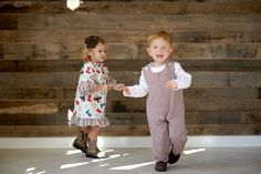Country Livin' brother sister matching set, i love this!