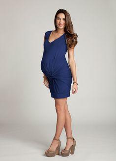 Zwanger, en super stijlvol. We like!