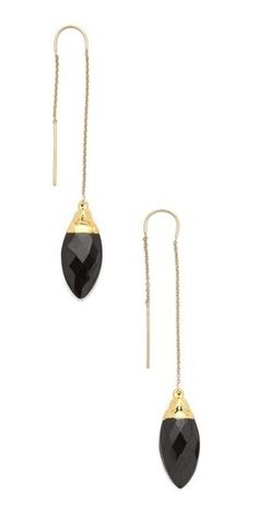 Heather Hawkins Thread Thru Earrings       $105.60