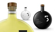 5 Olive Oil Package Design