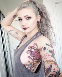 🌸 @suicidegirls 🌸  #tattootuesday #suicidegirls #tattoos #tattoo #inked #inkedgirls #inkedmagfrance #girlwithtattoos #girlwithpiercings #japanesetattoo  #beauty #igers #photooftheday  #inkedbabes #goth #altmodel  #grunge #inkedbabes #armtattoo  #tattooedgirls #tattoomodel #tattoosday #babesofsg #lingerie #shockmansion #girlsgirlsgirls #randomradness #armpittattoo