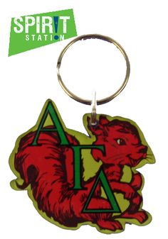 Alpha Gamma Delta Mascot Keychain-On sale this week! (1/20-1/26/13)