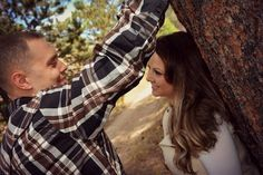 What better place to have your engagement photos taken, than in beahtiful Estes Park Colorado! Photos by Becky Beckingham Photography.