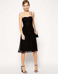 Enlarge ASOS Bandeau Dress in Lace