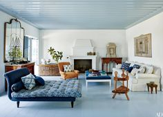 29 Colorful Ceilings That Add Unexpected Contrast to Any Room   Architectural Digest