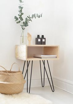 Mid Century Nighstand   The Best Wood Furniture