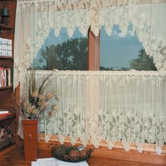 Heritage Lace Woodland Curtain Tier | from hayneedle.com