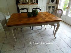 Table_style_Louis_XV_patinée_gris_perle_Atelier_des_4_saisons