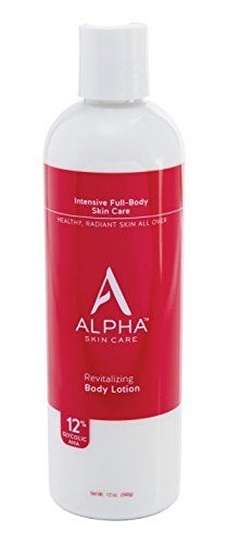 Alpha Skin Care Revitalizing Body Lotion with 12 Glycolic AHA 12 Ounce ** Find out more about the great product at the image link. (Note:Amazon affiliate link)