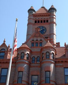 C is for Courthouse ...   The original DuPage County Courthouse still stands as an iconic part of downtown Wheaton's architecture. The historic building has been converted into unique homes.