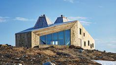The Rabot Tourist Cabin, by Norwegian architecture firm JVA (Photo: Einar Aslaksen)