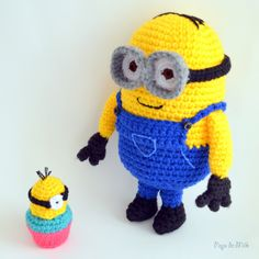 Dave the Minion Crochet Pattern