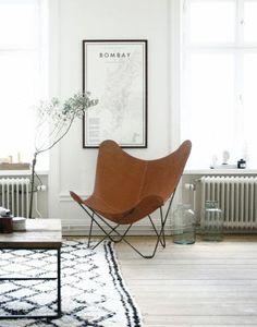 SCANDIMAGDECO Le Blog: Pièce déco : le fauteuil Butterfly
