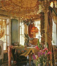 Romantic & shabby elegant. inside magnolia pearl house.
