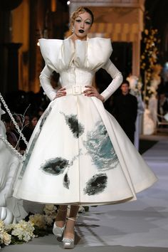 """Favorite Couture Moments: Christian Dior Fall 2007 """"One of the highlights of my career was the experience of sitting at Versailles watching all of the major supermodels reunited on the runway at the 60th anniversary show."""""""