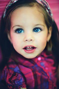 Adorable girl with big blue eyes  photographer Zhenia FOTOKOT  model Milana Trofimova  Russia