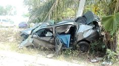 Policiacas: Conductor de UBER fallece, trágico accidente