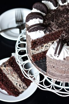 Oreo layer cake