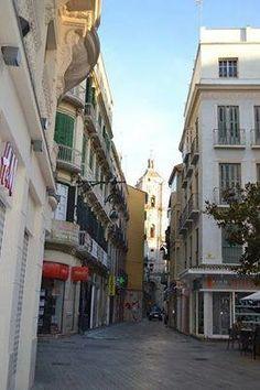 Calle San Juan, Málaga. Fotografía: Manuel Riera Jiménez