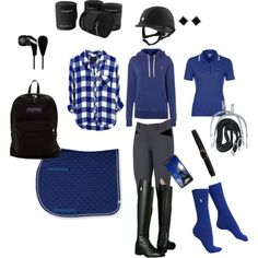 Show Morning by equinedesignzzz on Polyvore featuring Polo Ralph Lauren, Lacoste L!VE, JanSport, Yvel, CellPowerCases, Linea Pelle, Coolmax, Ariat and Skullcandy
