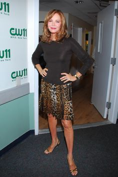 Jaclyn Smith and Mark Consuelos on the CW11 Morning Show