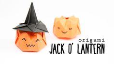 Origami Pumpkin Tutorial ★ Jack O' Lantern ★ Paper Kawaii