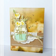 Jar of Love stamp set, Serene Scenery Paper Stack, Stampin' Up!