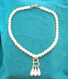 I may have just ordered an Anne Boleyn 'B' necklace...and I may be ridiculously excited about it.