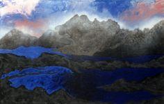 #estherramos #arte #pintura #cuadro #pigmento #latex #tela #lienzo #Difuminándose