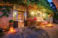 Charming Place at Night